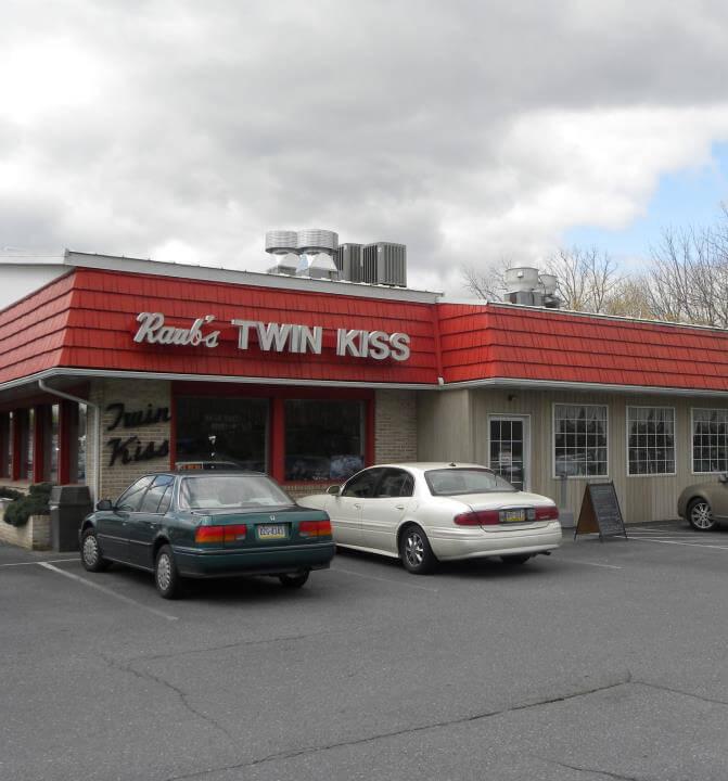 Raub's Twin Kiss