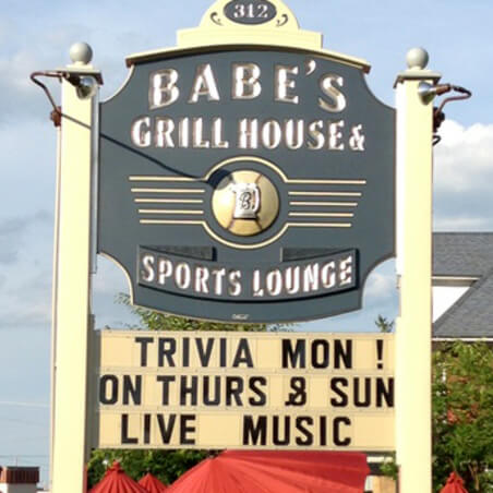Babe's Grill House + Lounge