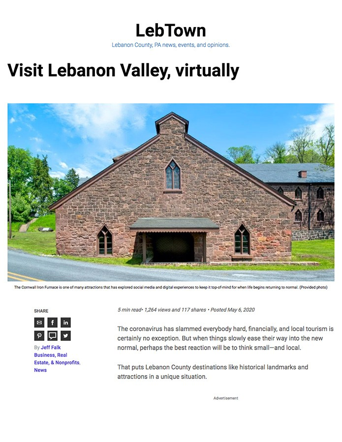 Visit Lebanon Virtually Article