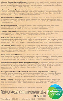 History Itinerary back